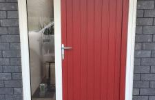 Red TG Entrance Door Breig 1