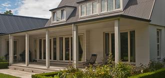 A home using the quality & affordable uPVC system from NK Windows