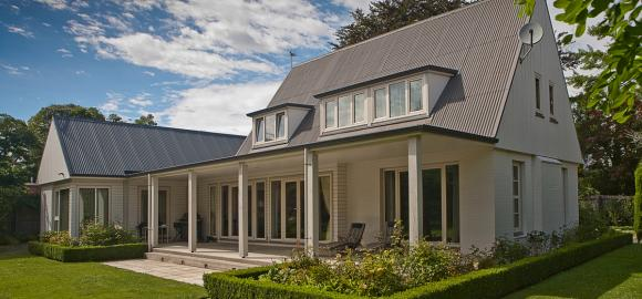 A home using the safe, affordable & insulating NK Windows uPVC system